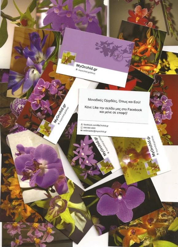 Μερικές από τις κάρτες μας